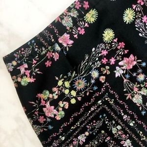Ted Baker London Skirts - Ted Baker❤️skirt in black with floral design sz 12